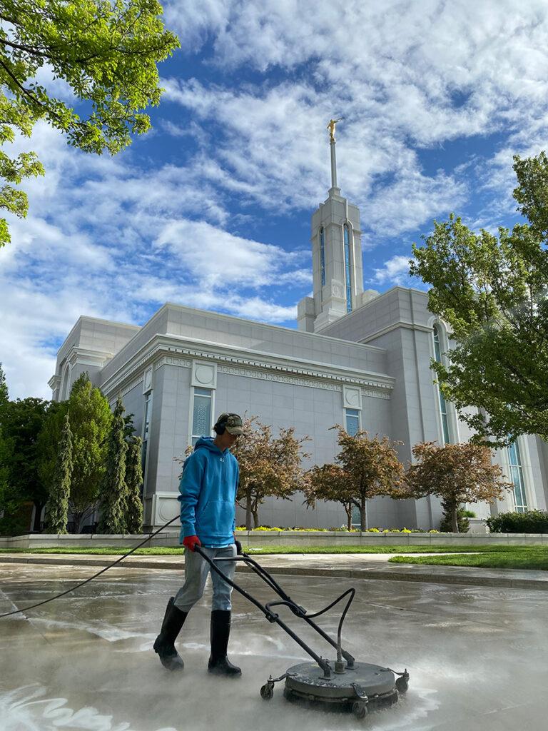 Salt Lake City Power Washing and Pressure Washing Services.